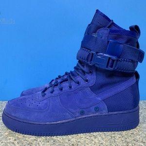 Nike SF AF1 Air Force 1 Mens Sizes Royal Blue